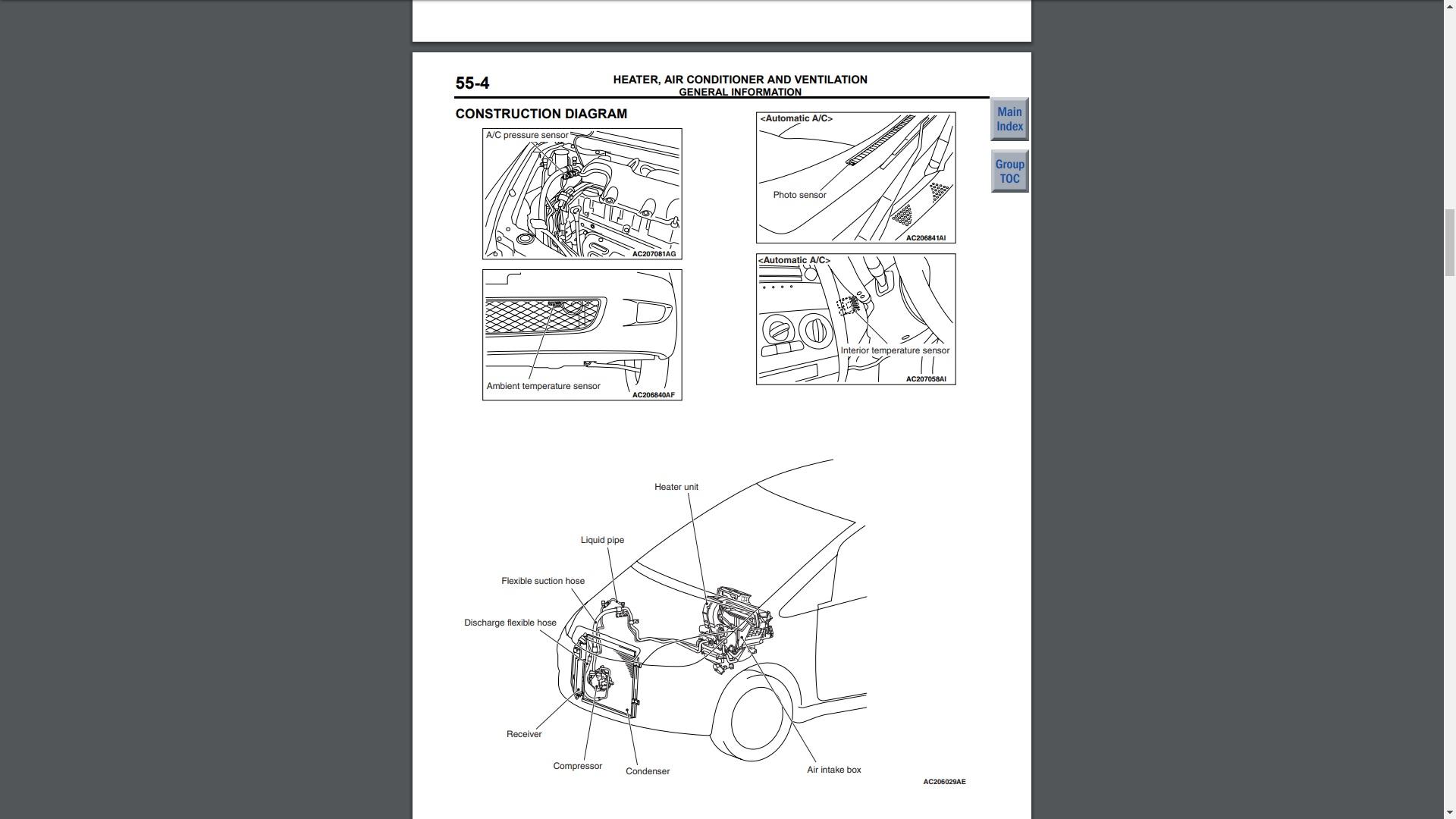 Mitsubishi Colt Repair Manual Screen Grag 2