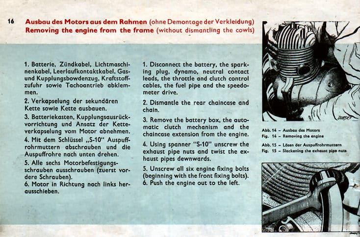 Repair manual for jawa motorcycles