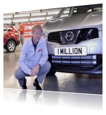 Nissan 1 million cars Sunderland