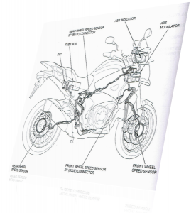 Honda motorcycle tyre pressures