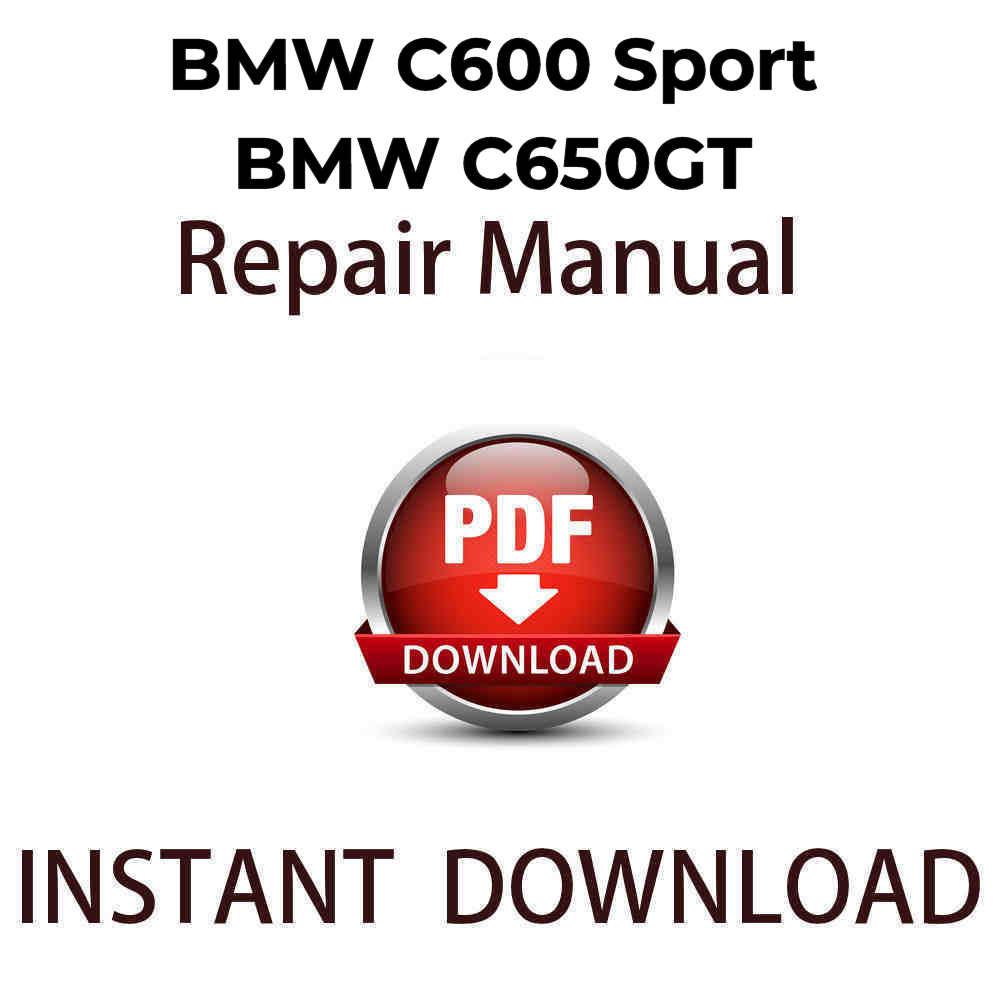 C650GT Workshop Manual