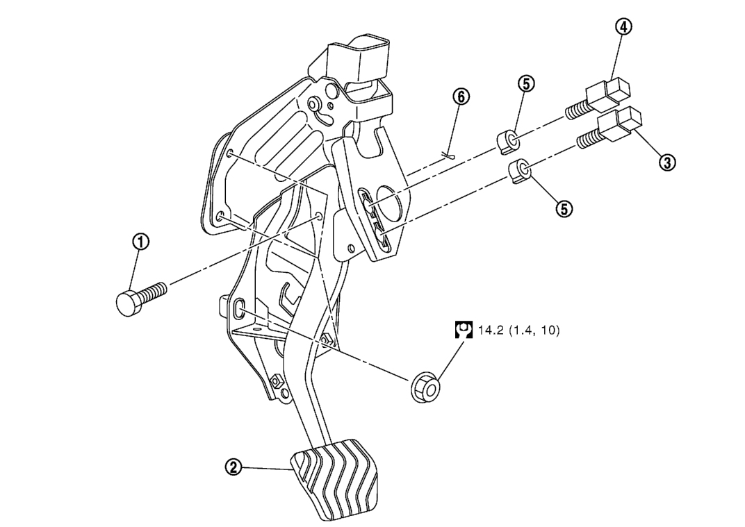 Nissan Qashqai Brake Pedal Removal And Installation Guide