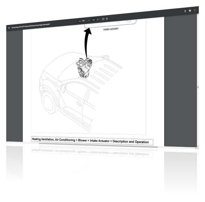 Kia Sportage workshopManual Screenshot 3