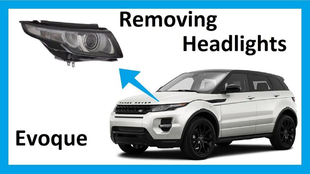 Range Rover Evoque Headlight Repair