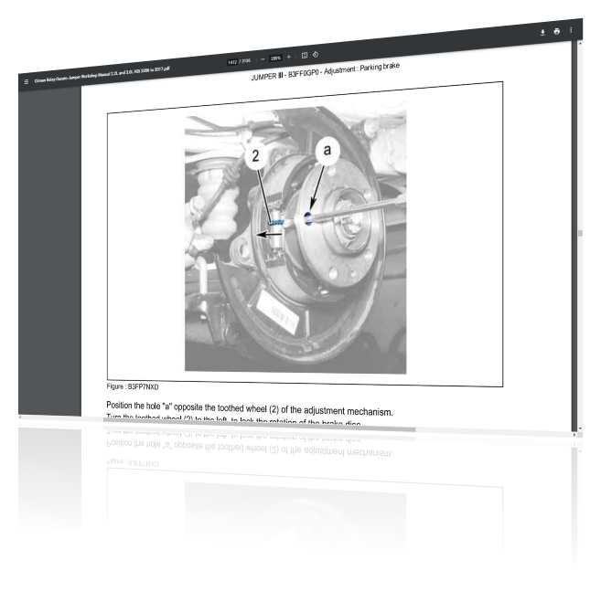 Peugeot Boxer workshop manual free download