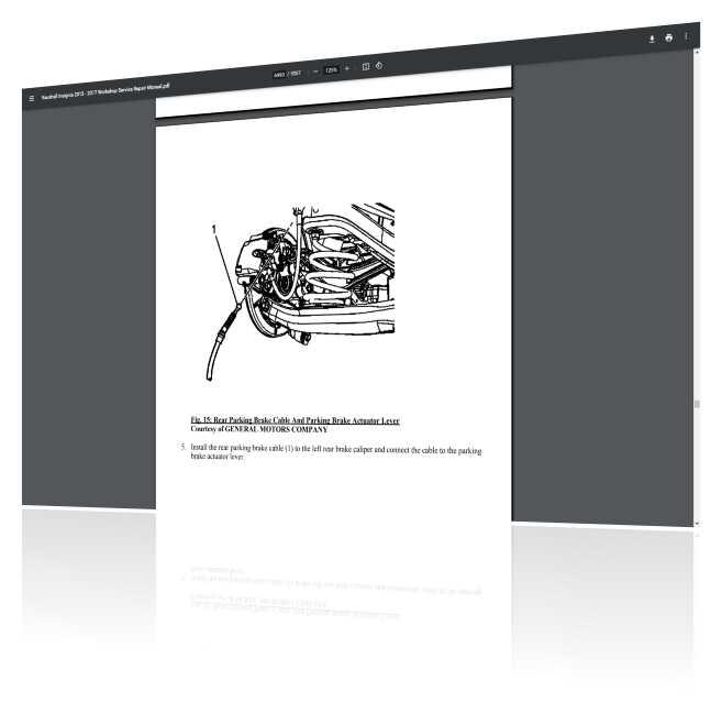 Opel Insignia workshop manual PDF Download
