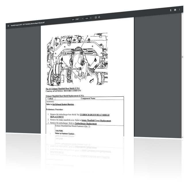 Vauhall Insignia repair manual PDF Instant Download